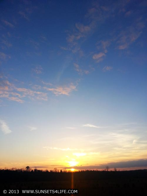 Sunset 01-11-13