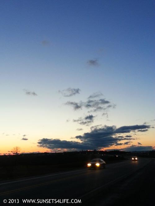 Sunset 03-05-13-TUE